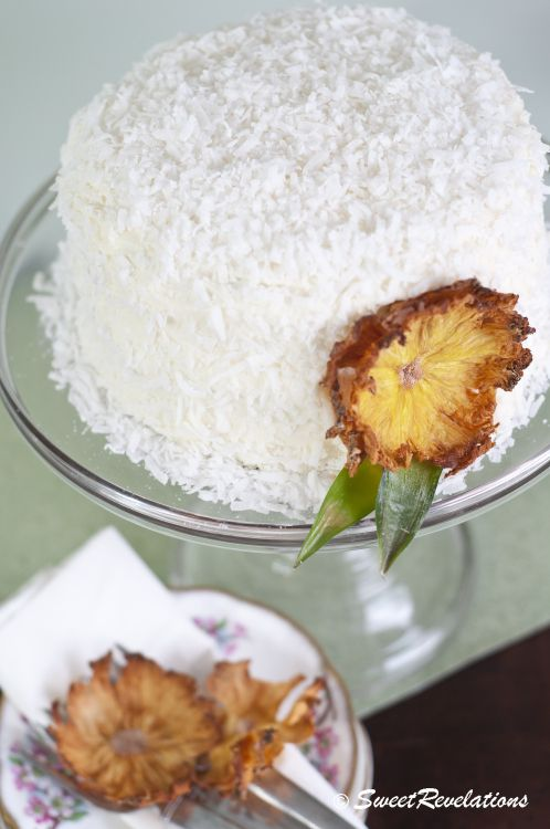 Ina S Classic Coconut Cake Beautiful Coconut And Flower