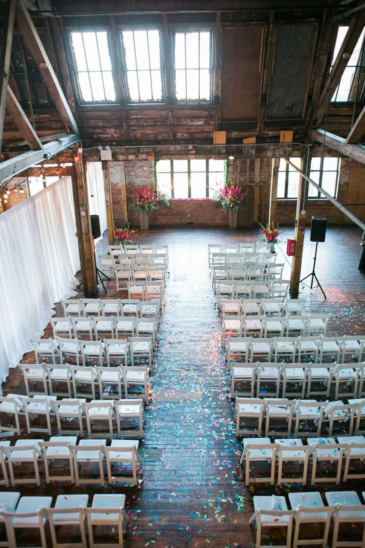 Greenpoint Loft | 9 Unique NYC Lofts You'll Love For Your Wedding | https://www.theknot.com/content/new-york-city-industrial-loft-venues