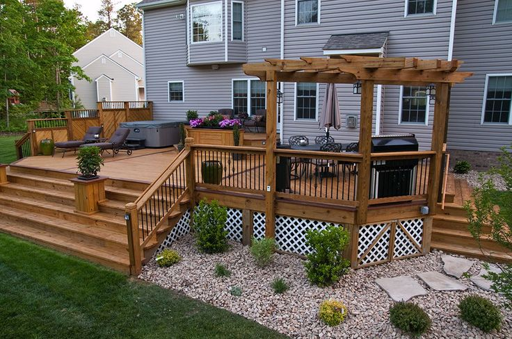 The Deck Tech specializes in the construction of custom decks, trellises, all-season rooms, screened porches, pergolas, sheds, fences, gates and garages.