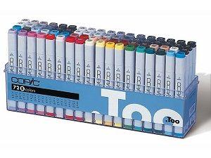 Copic Marker set 72B (161), 72 colors