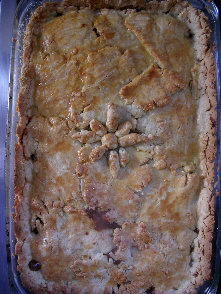 Meat Pie with Guinness Beer, Jaime Oliver recipe.