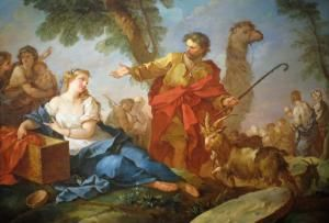 Meet Rachel, Favored Wife of Jacob and Mother of Joseph: Jacob and Rachel Leaving the House of Laban by Charles-Joseph Natoire, 1732.