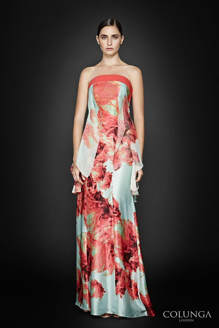 Almodis de la Marche. Gown of Italian silk, virgin wool and silk chiffon.
