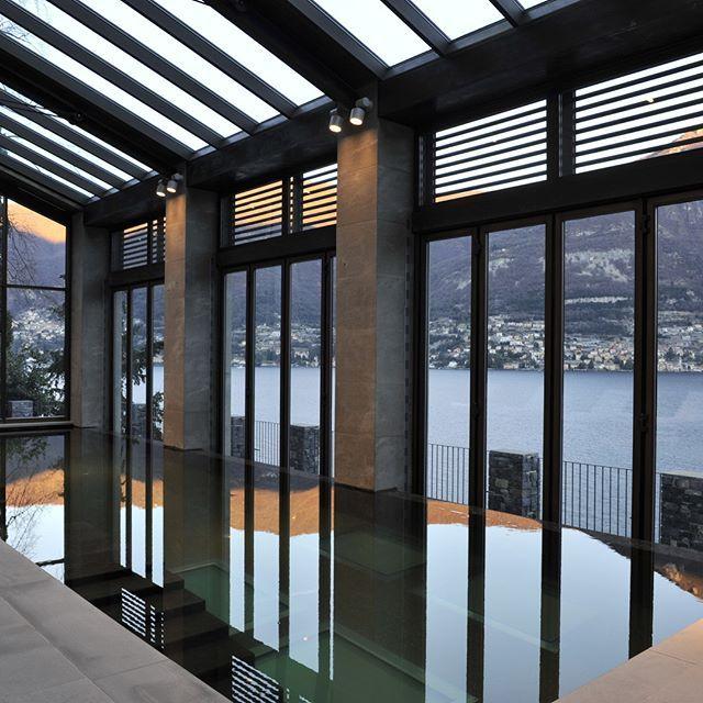 Indoor Poolside with view on lake Como, palazzo, Italy.    #luxuryhouse#luxurylife#luxuryliving#luxurytravel#luxurystyle#luxurydesign#luxuryhome#luxuryproperty#luxuryvilla#thegoodlife#luxury#traveler#travel#privatevilla#chateaux#castles#Rich#boss#lake#Como#lakeComo#Italy#palazzo