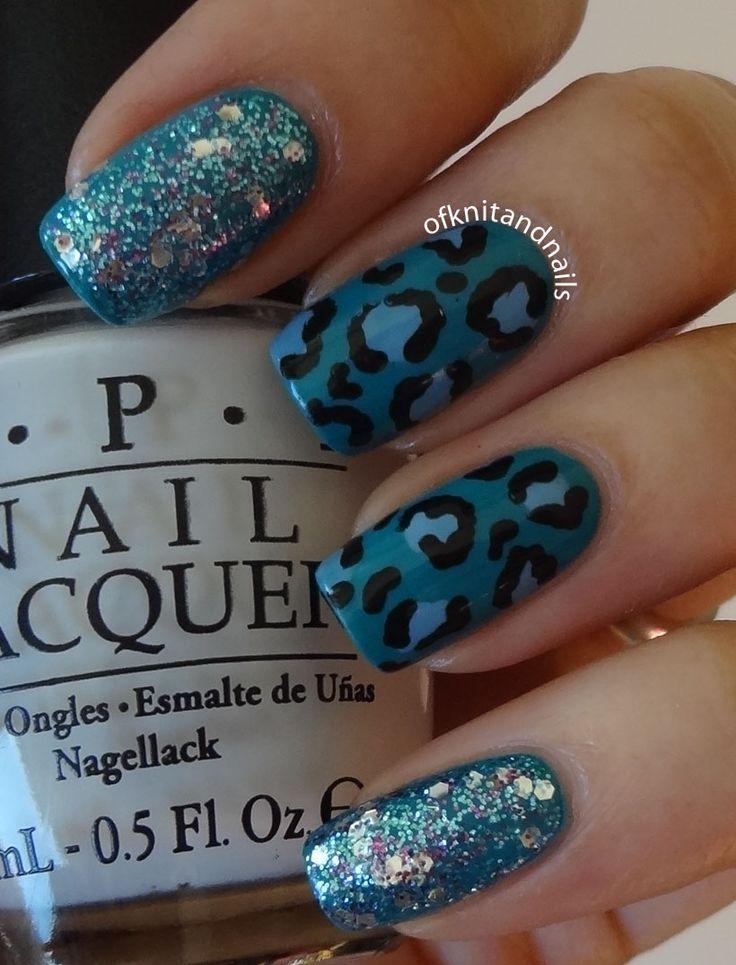 Glitter and Leopard..