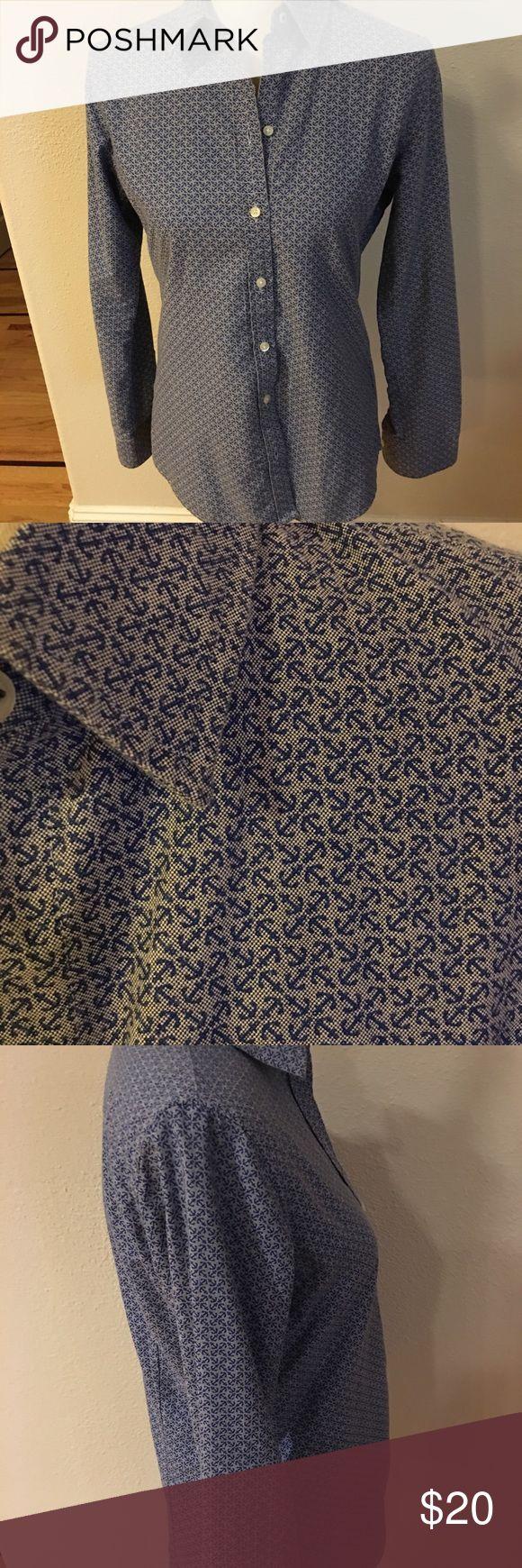 Banana Republic Women's Oxford Shirt Smoke and pet free home Banana Republic Tops Button Down Shirts