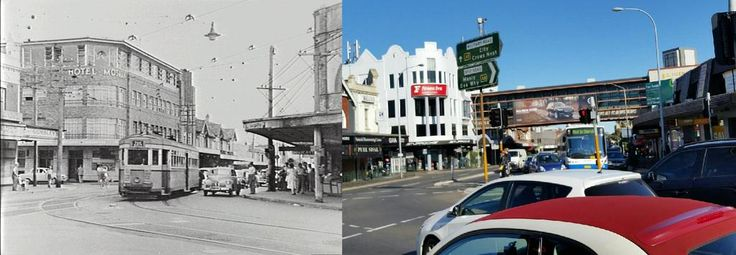#Tram on Military rd turning into Spit rd #Mosman 1958 - 2015 #throwbackthursday #Sydney @MosmanDaily @hotelmosman