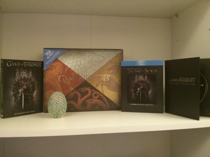 Game of thrones Complete First Season - Egg Edition