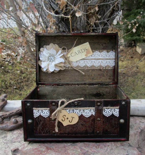 Best 25 Rustic Card Boxes Ideas On Pinterest