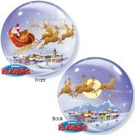 56cm Bubble A Visit from St. Nicholas $15.95 (Inflated) Q26979