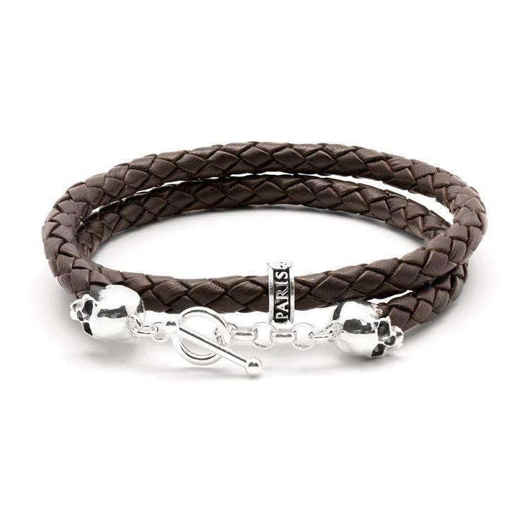 Bracelet de cuir pour homme quebec
