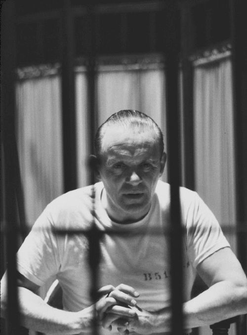 The Silence of the Lambs, 1991 (Anthony Hopkins as Hannibal Lecter)