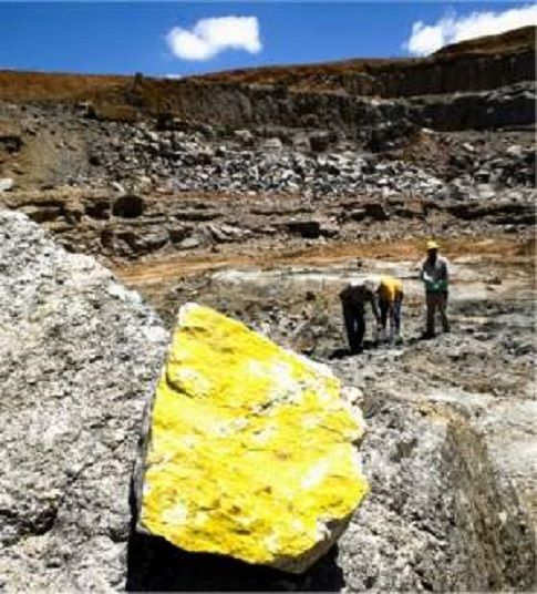 Caetité (Bahia) Brasile   ... de urânio da mina de Caetité na Bahia será retomada em 2016