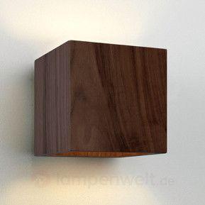 Superb Sch ne Holz Wandleuchte CREMONA