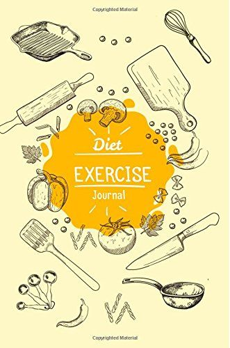 Diet Exercise Journal: Food and Exercise Planner Diet Diary Health Exercise & Weight Loss Tracker Before and After Healthy Body Reviews