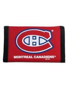 Montreal Canadiens nylon wallet