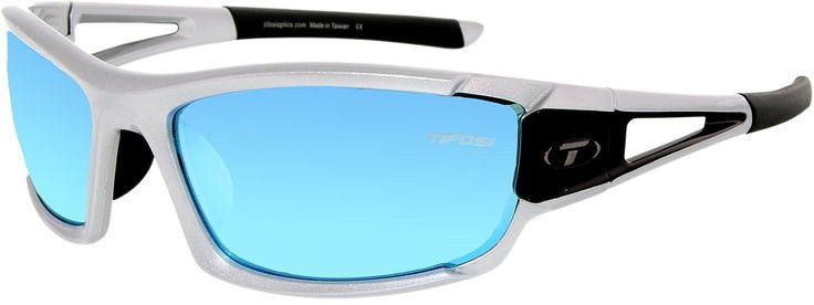 Tifosi Women'S Gradient  1020100622 Silver Rectangle Sunglasses