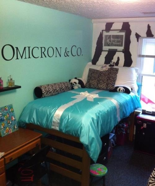 Delightful AOII Tiffany And Co Bedroom. I Could Totally Do This With What I Already  Have