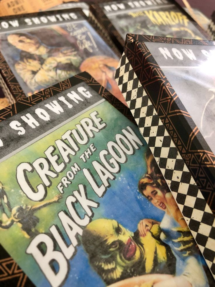 Classic Horror Movie DIY Light Boxes for Halloween