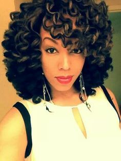 Crochet Hair On White Girl : ... hair information natural hair curly hair relaxed hair hairstyles m