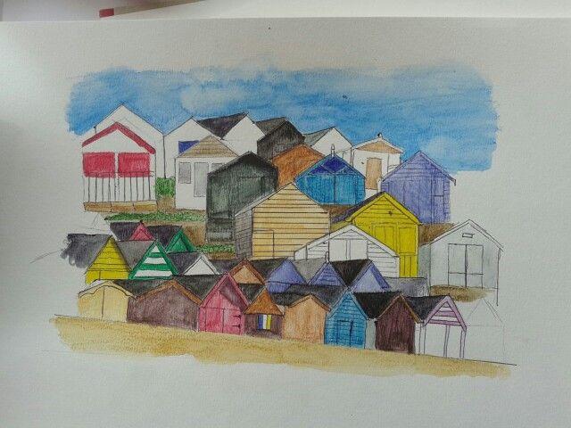 Attempt at urban sketching