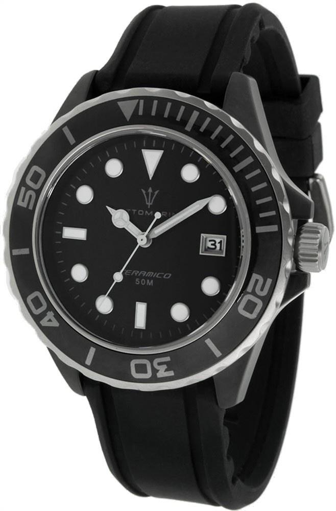 Sottomarino matte ceramico sm70011 b quartz watches for Sottomarino italia