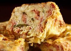 Pão de Linguiça da Pizzaria do Bráz