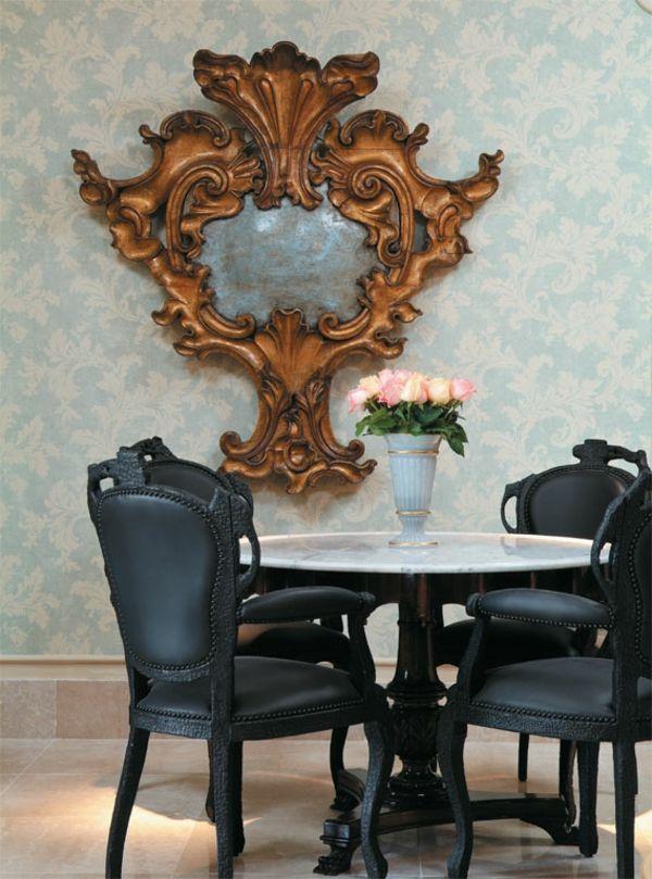 Esszimmermöbel Schwarze Stühle Spiegel | Stühle | Pinterest | Stuhl,  Esstisch Mit Stühlen Und Speisezimmer