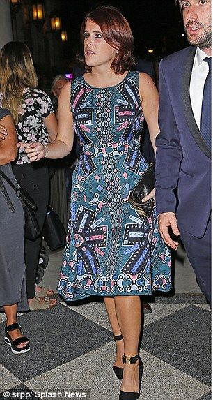 GIRL ABOUT TOWN: Eugenie holiday ban after taking 25 days ...