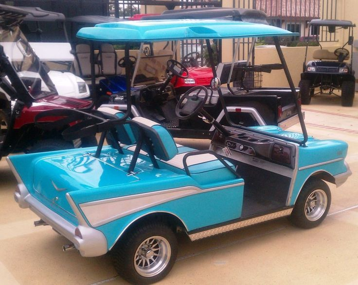 57 Chevy Belair Custom Golf Cart Body Kit CLUB CAR DS includes lights & hardware | Sporting Goods, Golf, Golf Clubs & Equipment | eBay!