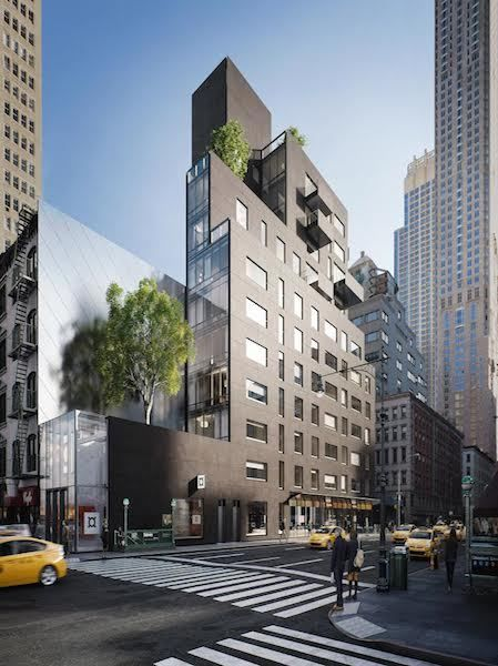 Post-Office Architectes Design Asymmetrical Condo for Tribeca