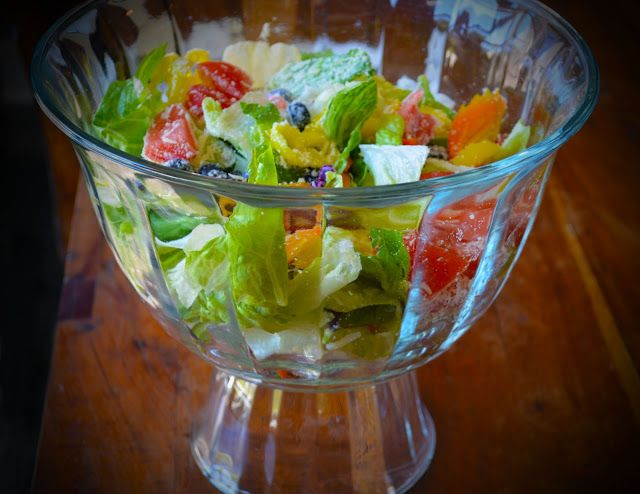 Copycat Olive Garden Salad Recipe - The Sassy Stove. Com