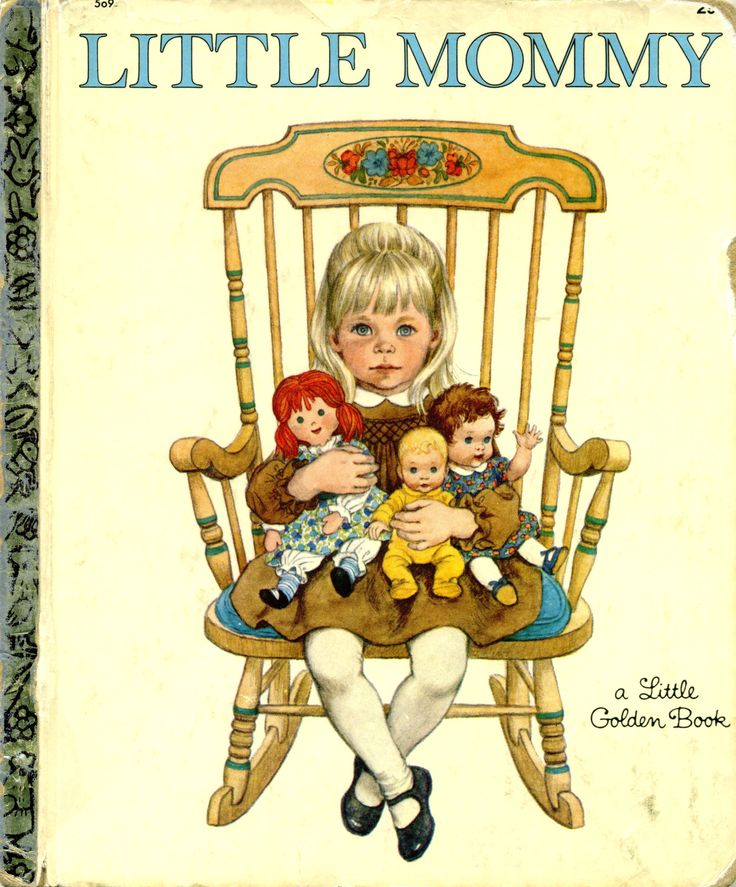 Little Mommy, 1967, 2nd printing...Written and illustrated by Sharon Kane...family copy