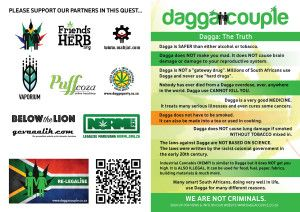 We're very proud of our flyer, now available in 5 of our 11 official languages, more to come soon. Cannabis activism is alive & kicking in SA.