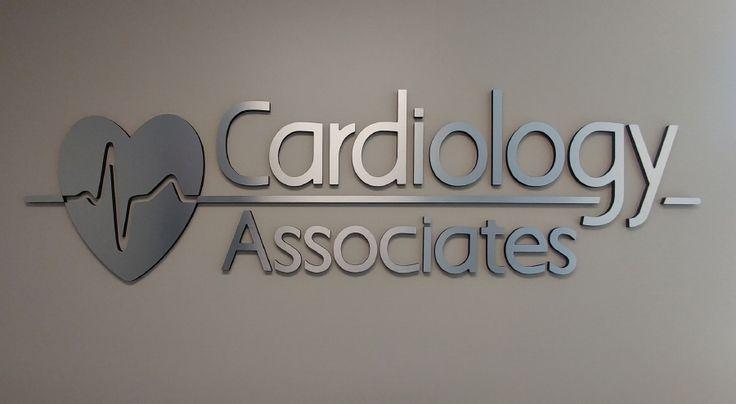 Cardiology Associates Corporate Identity Signage by Pensacola Sign #pensacolasign #signage #sign #signs #businesssign #locabusiness #pensacola #pensacolaflorida #brandidentity #corporateidentity #dimensionallettering