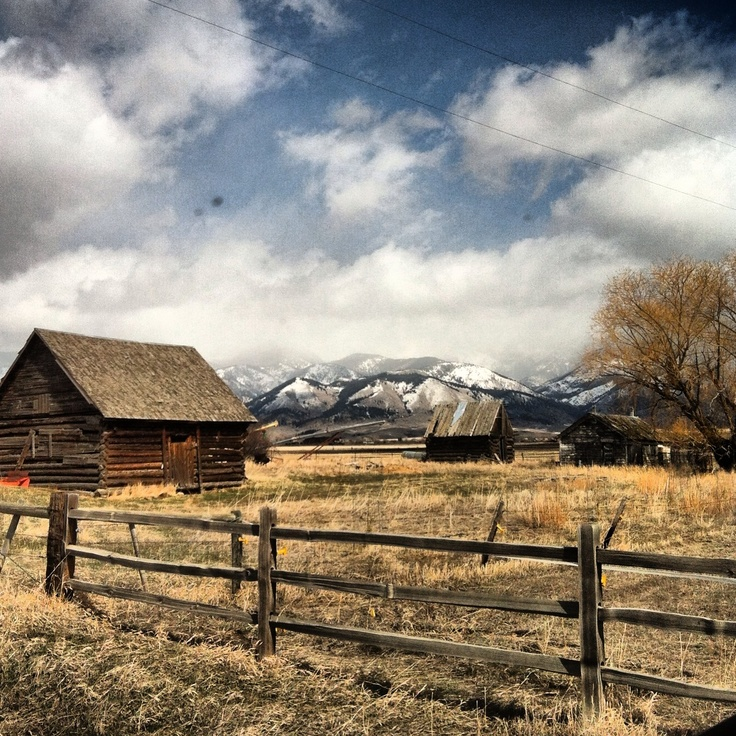 Old Montana Ranch reminds me of heartland