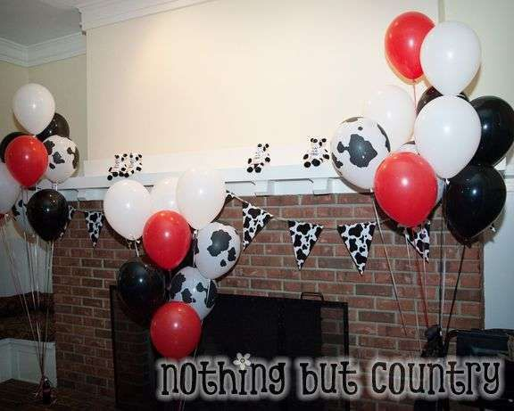 Chick-fil-a Cows Birthday Party Ideas | Photo 1 of 33