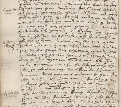 Brand in de Martinitoren: fragment uit de kroniek van Abel Eppens tho Equart (1577)