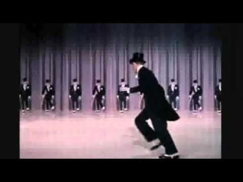 ▶ Fred Astaire. Put it on the Ritz. - YouTube I loved this man.  At the age of 78, he broke his hip riding his grandson's skateboard in the driveway.  I've driven past his home.  His drive way was like a small hill!  He was a brave man.  :)