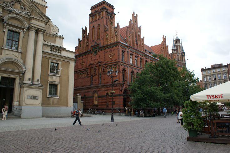 Dejlige og smukke gamle bygninger er der overalt i Torun