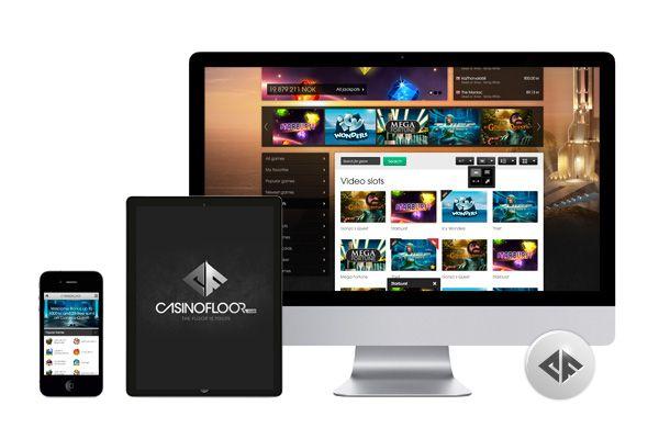 Det nya revolutionerande 3D-casinot Casinofloor.com valde Bravomedia för framtagning av grafisk profil och webbplatsdesign.