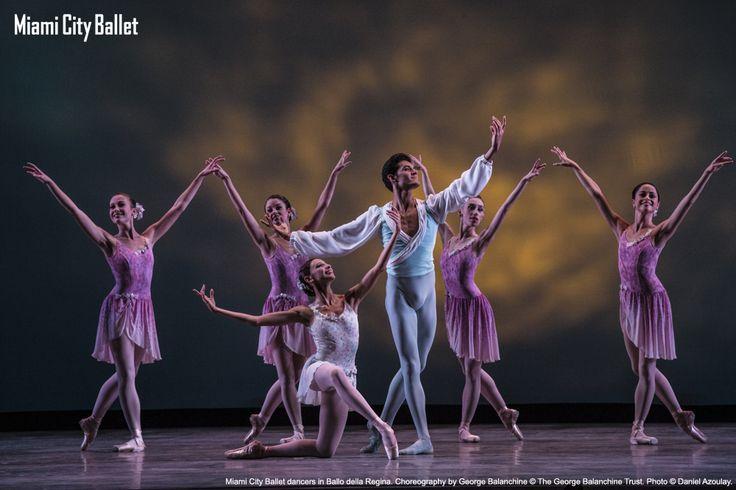 MCB dancers in George Balanchine's 'Ballo della Regina' - ONSTAGE Program I: First Ventures
