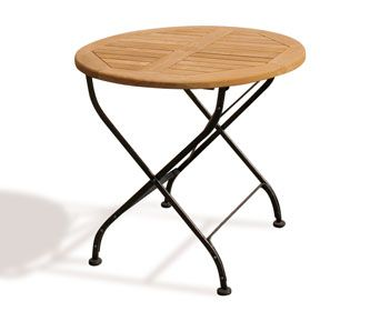 Bistro Teak Folding Table With Teak Bistro Table And Chairs