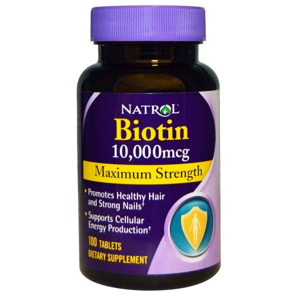 Natrol Biotin Maximum Strength on #iHerb 52% + $5 OFF - Now $3,13 #RT #deals #dietary Discount applied in cart