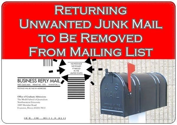 how to i return an unwanted email with aliant