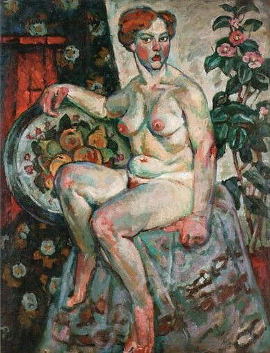 Seated NudebyIlya Mashkov   Size: 120x95 cm