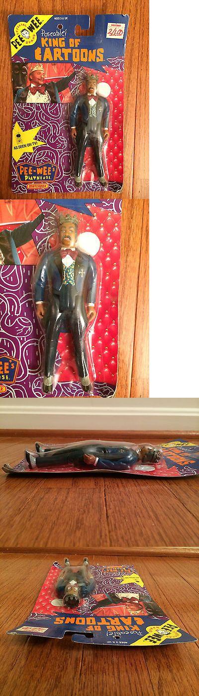 Pee-Wee Herman 20917: 1988 Matchbox Pee-Wee S Playhouse (King Of Cartoons) Figure, New! Sealed! -> BUY IT NOW ONLY: $30 on eBay!