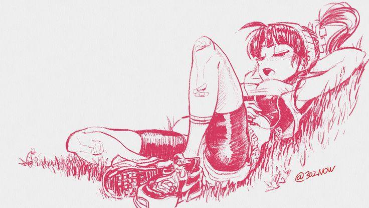 #mahwa #manga #illust #freshpaint #siesta