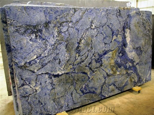 Azul Bahia Granite Slab, Brazil Blue Granite from China - StoneContact.com