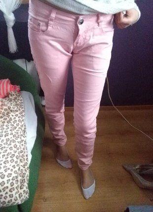 Kup mój przedmiot na #vintedpl http://www.vinted.pl/damska-odziez/rurki/16490980-jasno-rozowe-rurki-bardzo-eleganckie